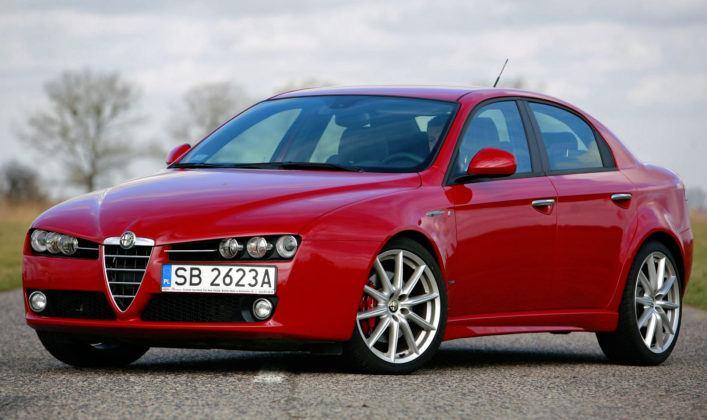 Alfa Romeo 159 - wyraźna poprawa zabezpieczenia antykorozyjnego.