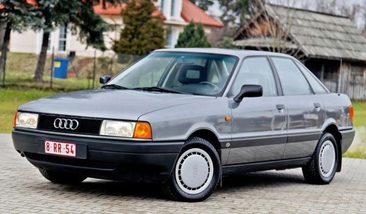Audi 80 B3 - od niego wszystkie następne Audi wyjątkowo dobrze opierają się korozji.