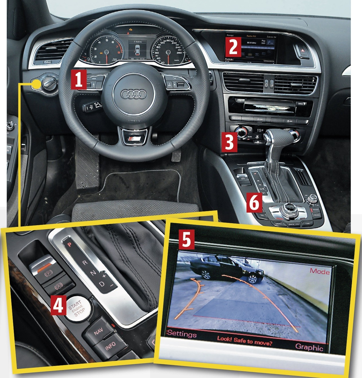 Inspirationen Audi A4 B8 Ambiente Beleuchtung 2018