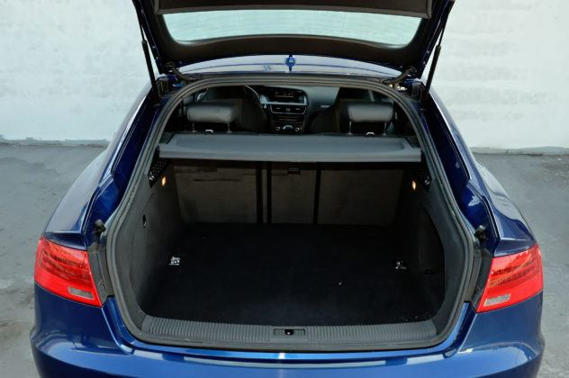 Audi A5 I Sportback - bagażnik
