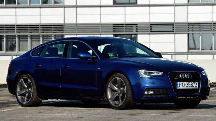 Audi A5 I Sportback - przód