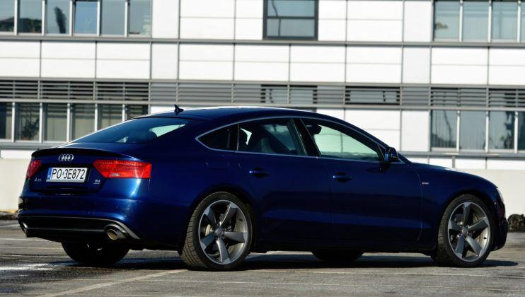 Audi A5 I Sportback - tył