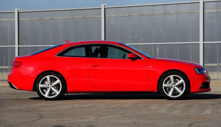 Audi A5 I - bok