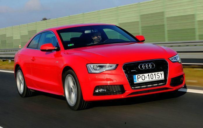 Audi A5 I - otwierające