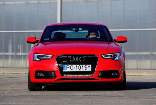 Audi A5 I - przód