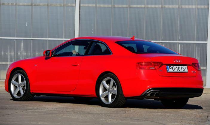 Audi A5 I - tył