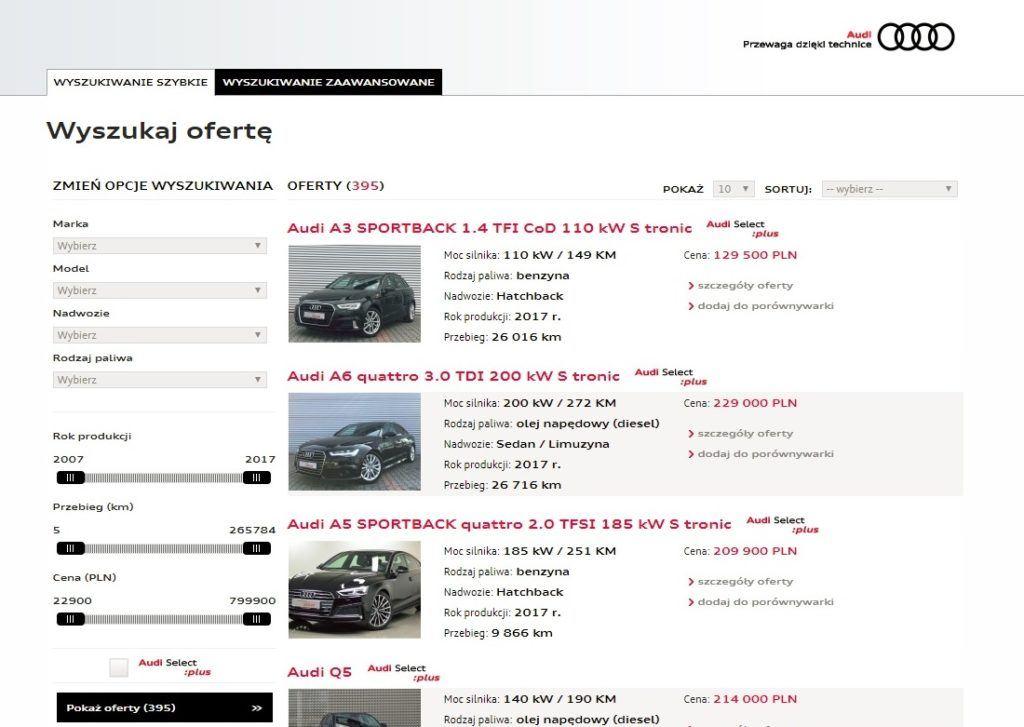 Audi Select :plus