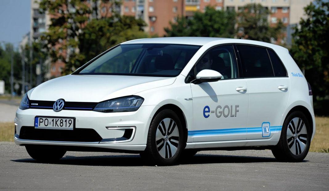 Auta elektryczne - najlepszy - Volkswagen e-Golf