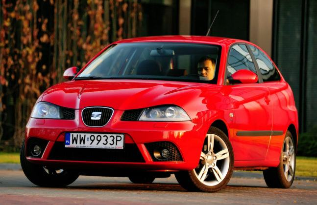 Najwyższe przebiegi w klasie aut miejskich - Seat Ibiza.