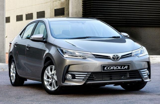 Burundi - Toyota Corolla