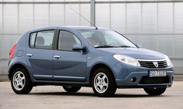Dacia Sandero - analogicznie jak Logan.