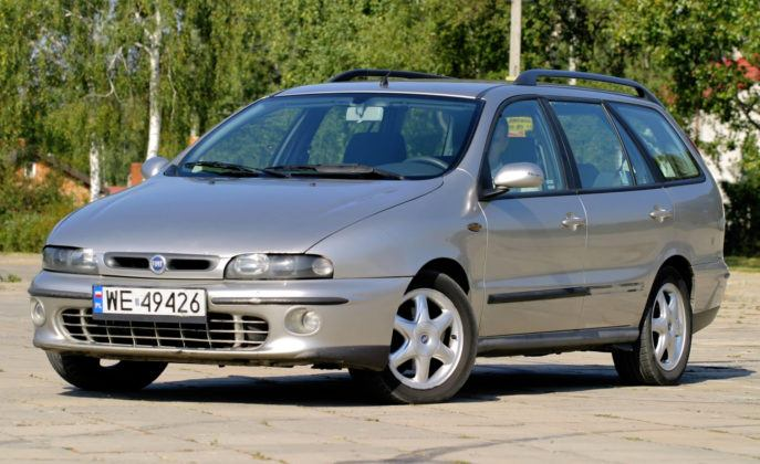 Fiat Marea Weekend - korozja eliminuje większość jeżdżących egzemplarzy.