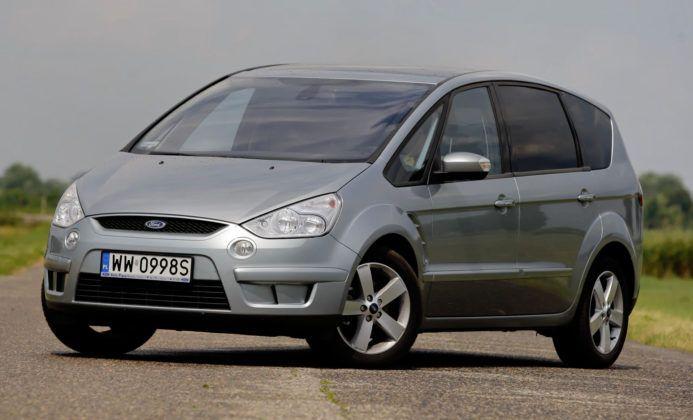 Ford S-Max - przód