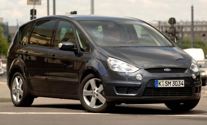 Ford S-Max - sylwetka