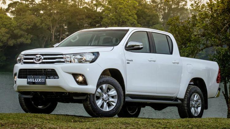 Gwatemala - Toyota Hilux