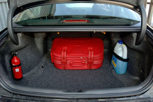 Honda Accord VII - bagażnik