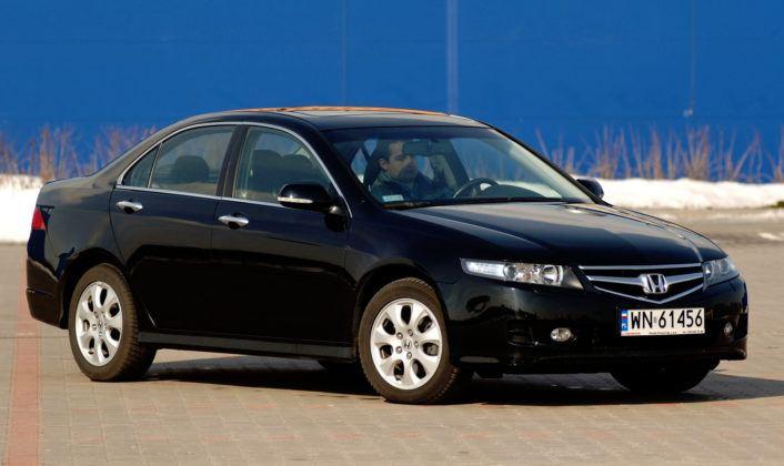 Honda Accord VII - przód