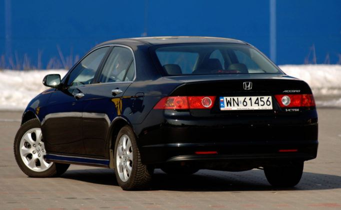 Honda Accord VII - tył