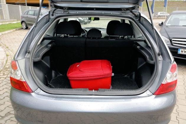 Honda Civic VII - bagażnik