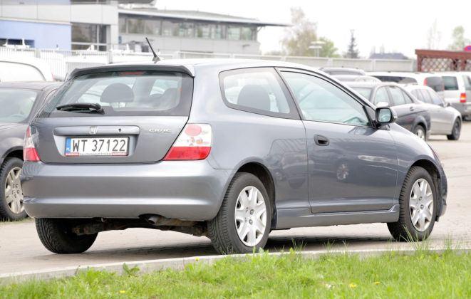 Honda Civic VII - tył