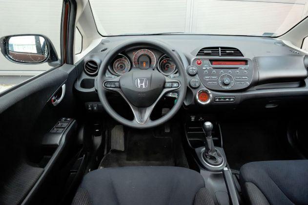 Honda Jazz III - deska rozdzielcza