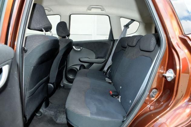Honda Jazz III - tylna kanapa