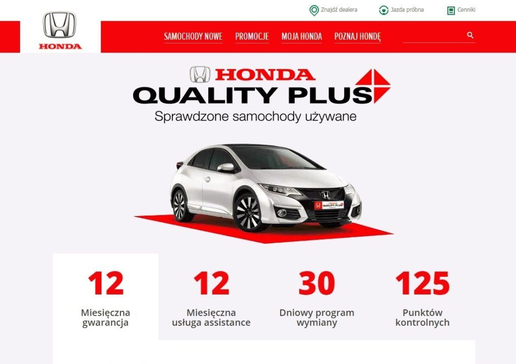 Honda Quality Plus