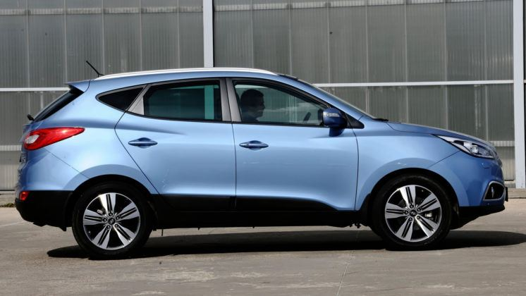 Hyundai ix35 - bok