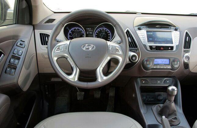 Hyundai ix35 deska rozdzielcza