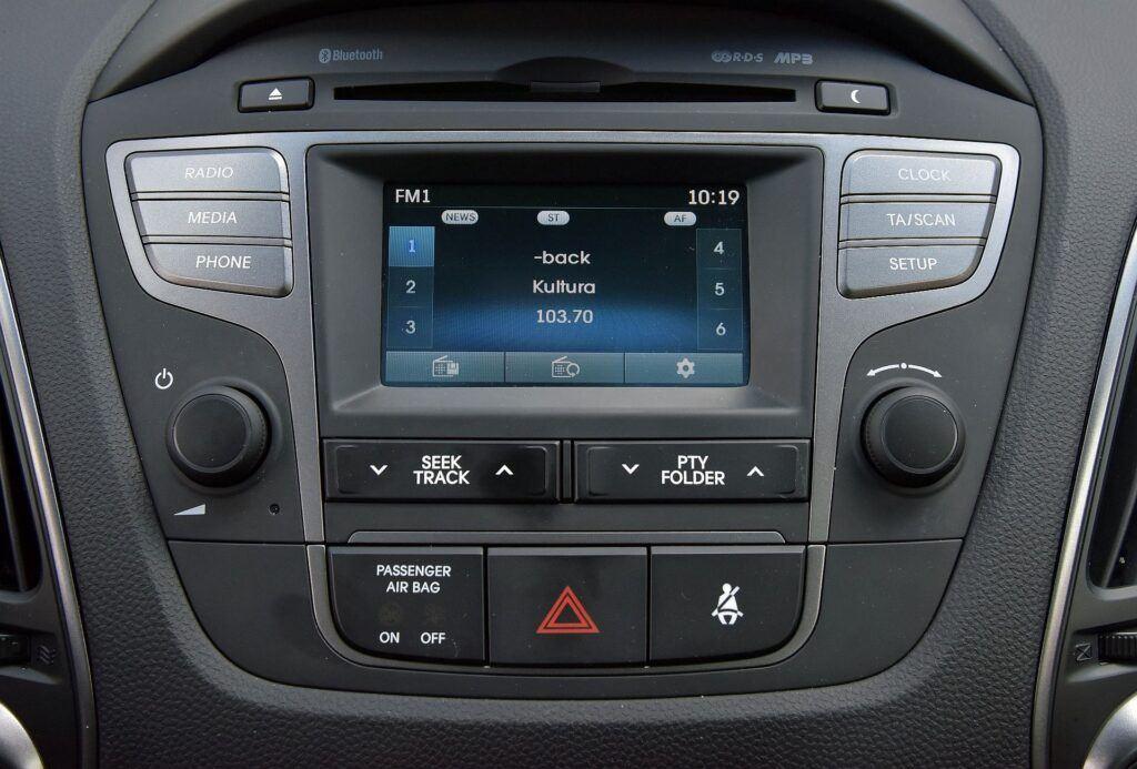 Hyundai ix35 radio
