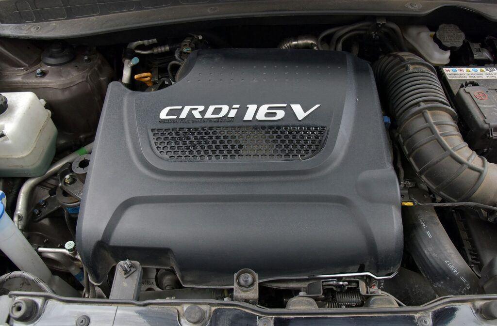 Hyundai ix35 silnik