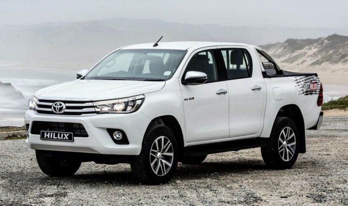 Kenia - Toyota Hilux