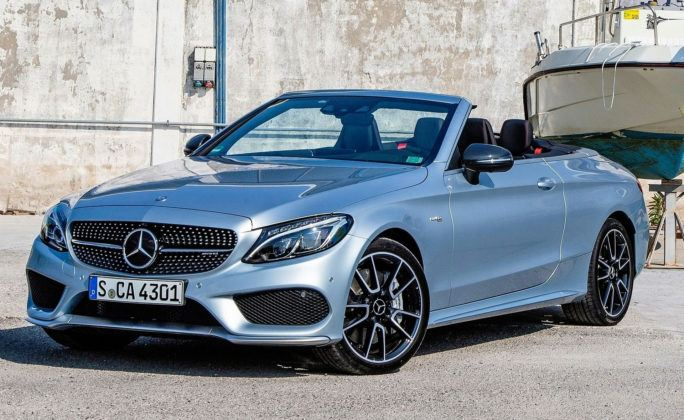 Klasa średnia - najgorszy - Mercedes C Cabrio