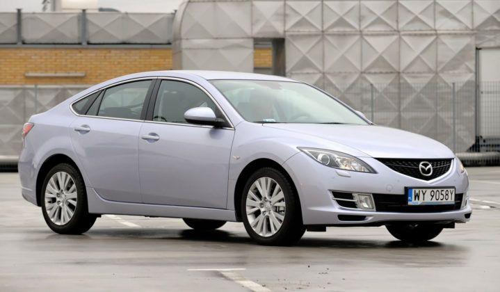 Najniższe przebiegi w klasie średniej - Mazda 6.