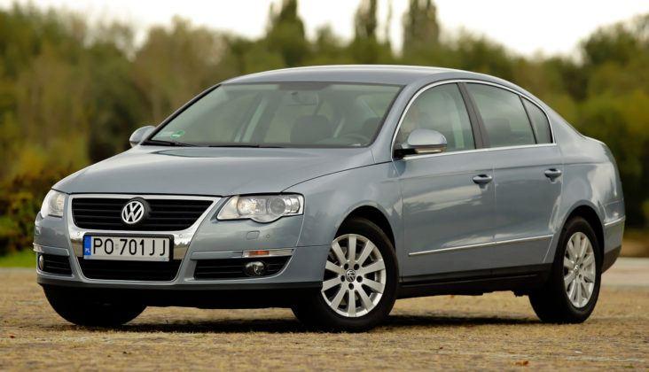 Najwyższe przebiegi w klasie średniej - Volkswagen Passat.
