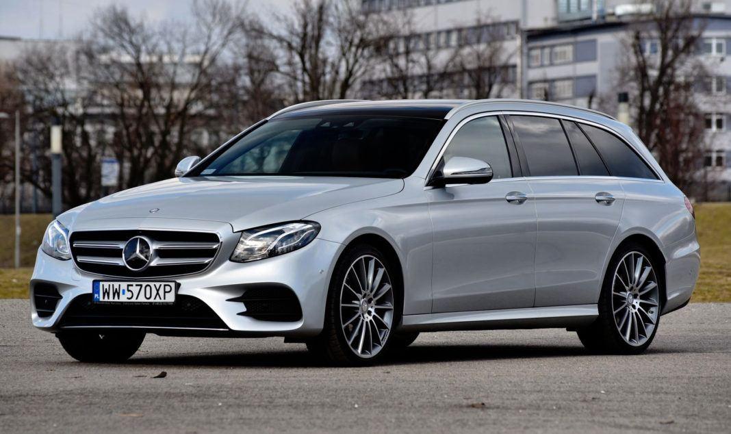 Klasa wyższa - najlepszy - Mercedes E 220 d