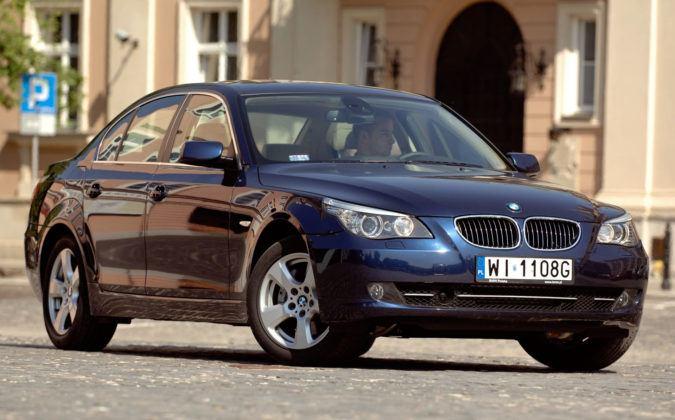 Najniższe przebiegi w klasie wyższej - BMW serii 5.