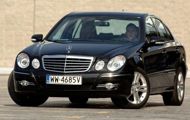 Najwyższe przebiegi w klasie wyższej - Mercedes Klasy E.
