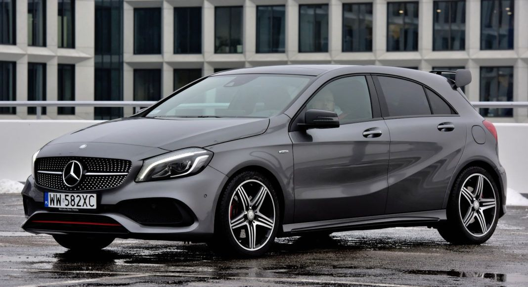 Kompakty - najgorszy - Mercedes A 250