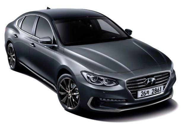 Korea Południowa - Hyundai Grandeur