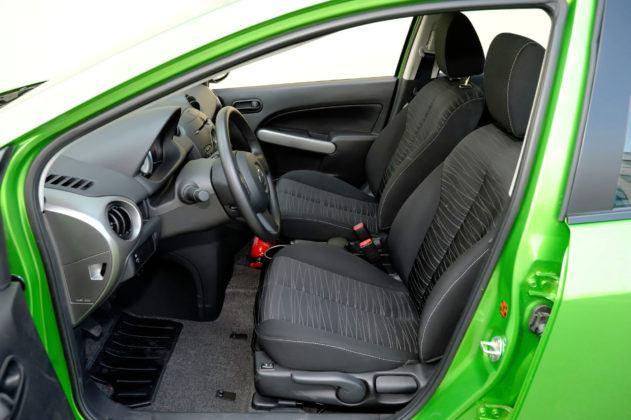 Mazda 2 III - fotel kierowcy