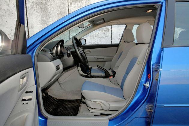 Mazda 3 I - fotel kierowcy