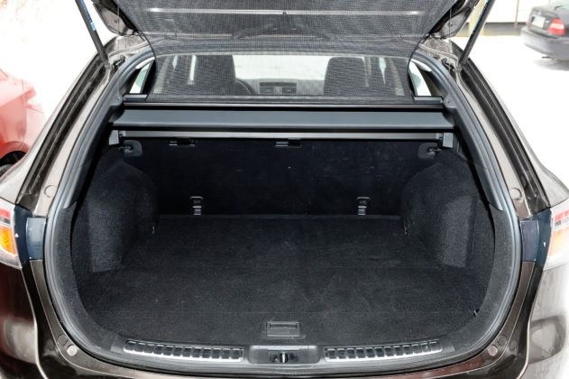 Mazda 6 II - bagażnik