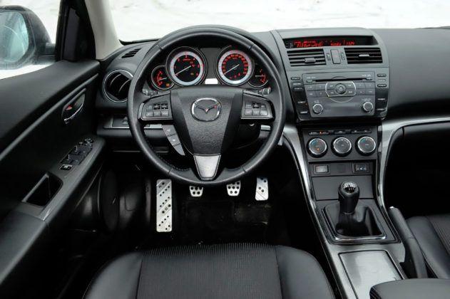 Mazda 6 II - deska rozdzielcza