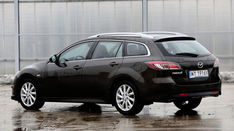 Mazda 6 II - tył