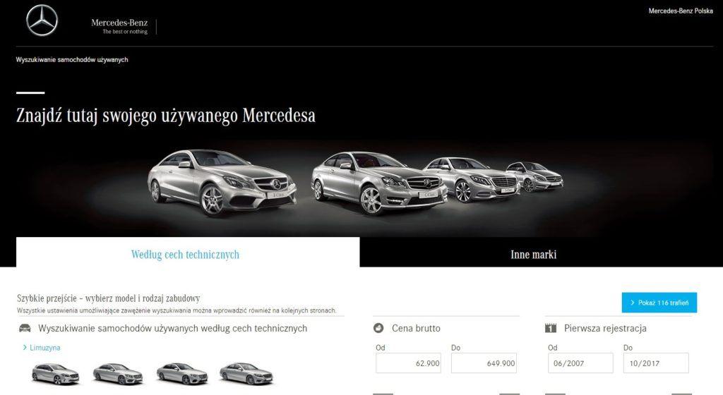 Mercedes Samochody Używane
