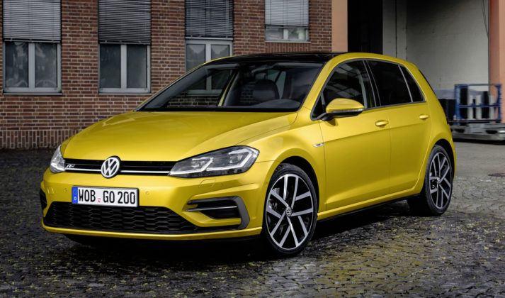 Miejsce 3 - Volkswagen Golf