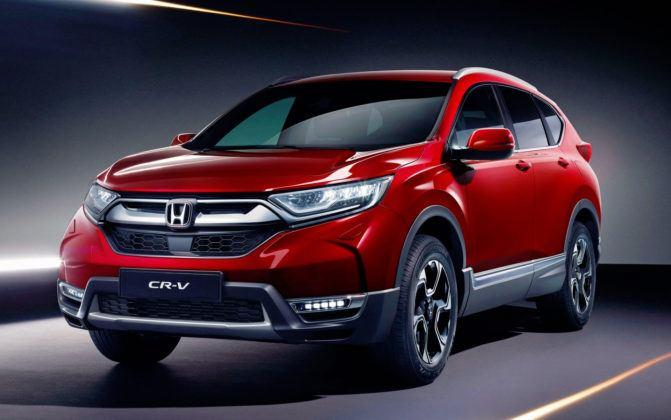 Miejsce 6 - Honda CR-V