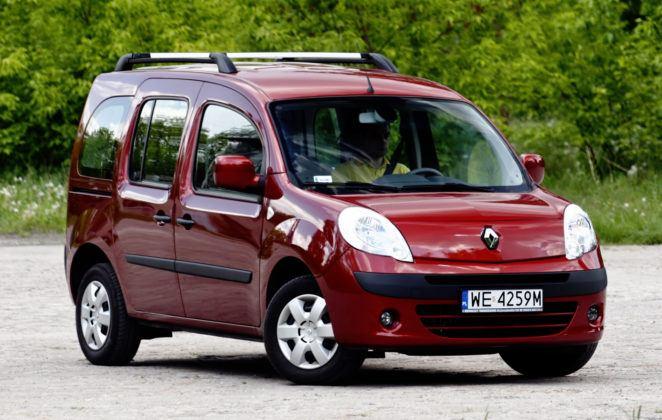 Najniższe przebiegi w klasie minivanów - Renault Kangoo.