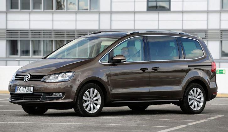 Najwyższe przebiegi w klasie minivanów - Volkswagen Sharan.